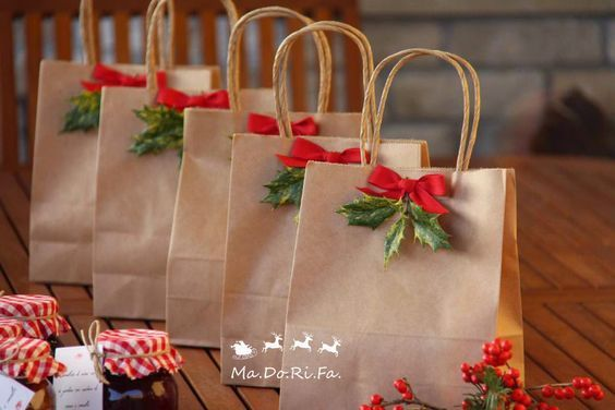 30+ Best Christmas ideas - Christmas gift wrapping, Diy christmas gifts, Unique gift wrapping christmas, Christmas gift bags, Christmas gift wrapping diy, Christmas bags - Soon the holidays  Christmas and New Year) A period of miracles, warmth and gifts  It's interesting to prepare for the holidays will help our post  DIY