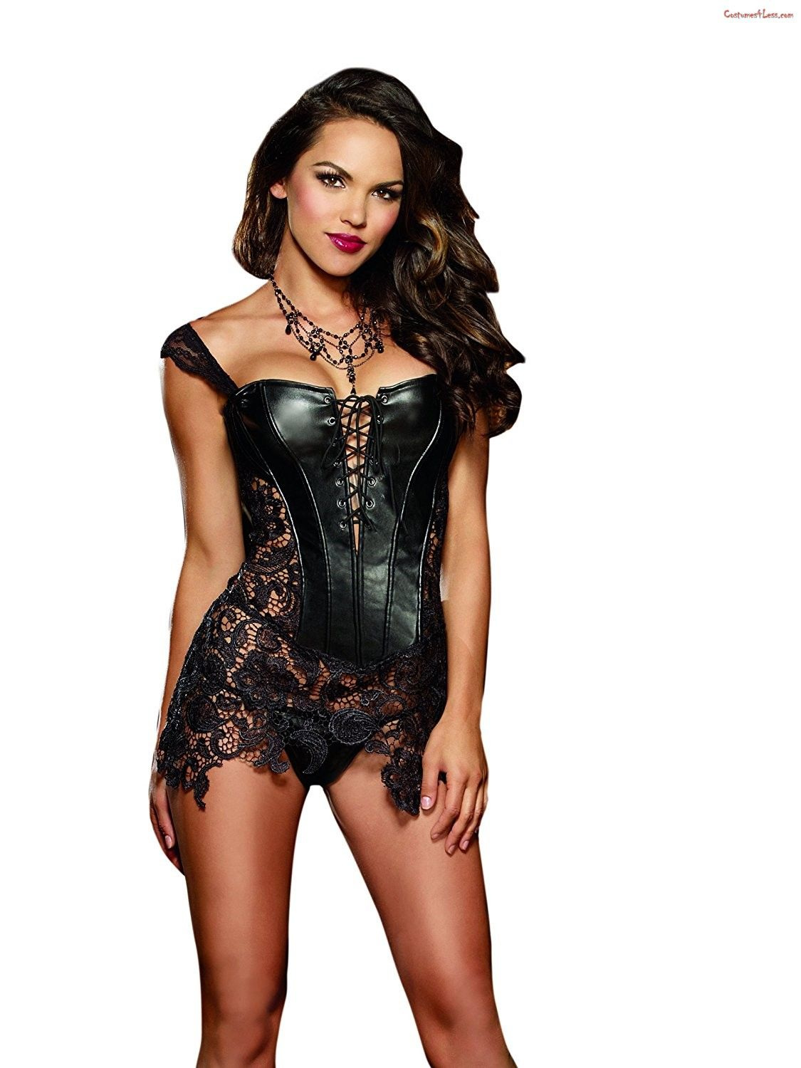 5189941bd3 Sexy Beyonc Inspired Faux Leather Corset