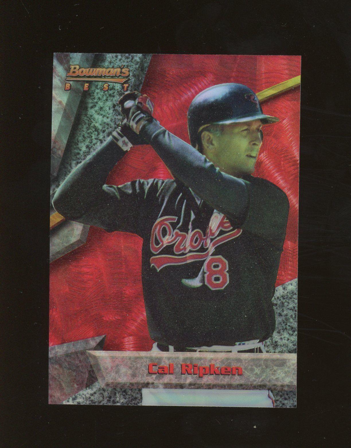 1994 Bowmans Best Red Refractor Cal Ripken Jr Baltimore