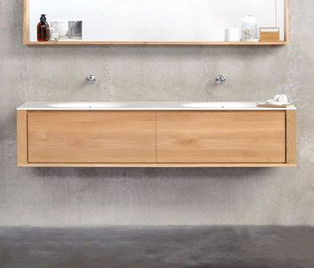Detailed Informations About Product Oak Bathroom Qualitime By Ethnicraft With Informations About Addresses Of Retailers Picture Galler Salle De Bain Bains Sdb
