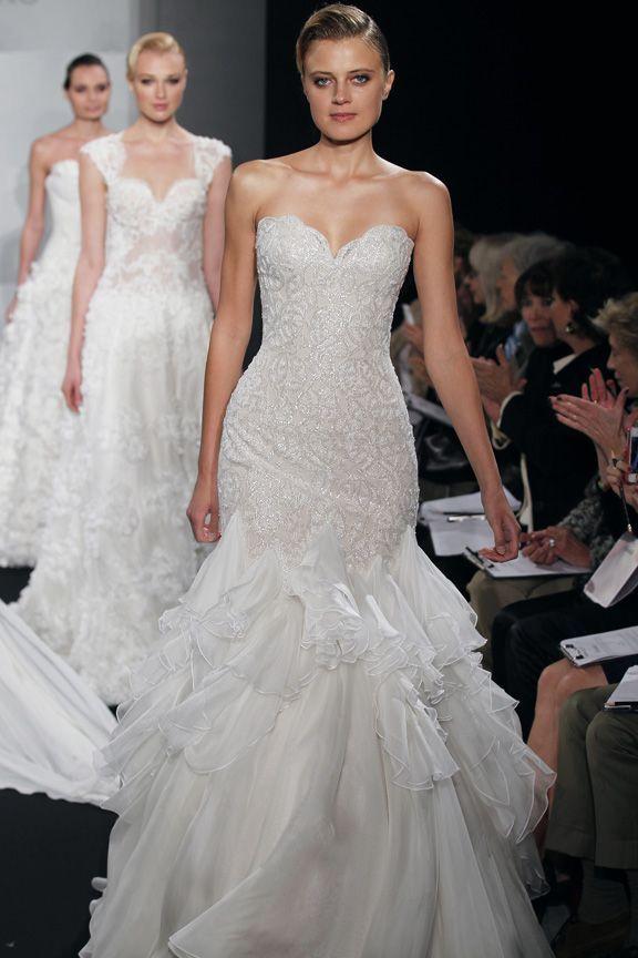 kleinfeld dresses | Mark Zunino for Kleinfeld\'s: Bridal Bustier\'s ...
