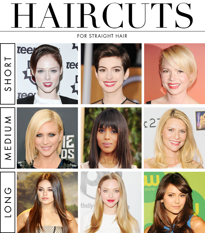 The Best Haircuts For Straight Hair Straight Hair Haircuts And - Girl hairstyle name list