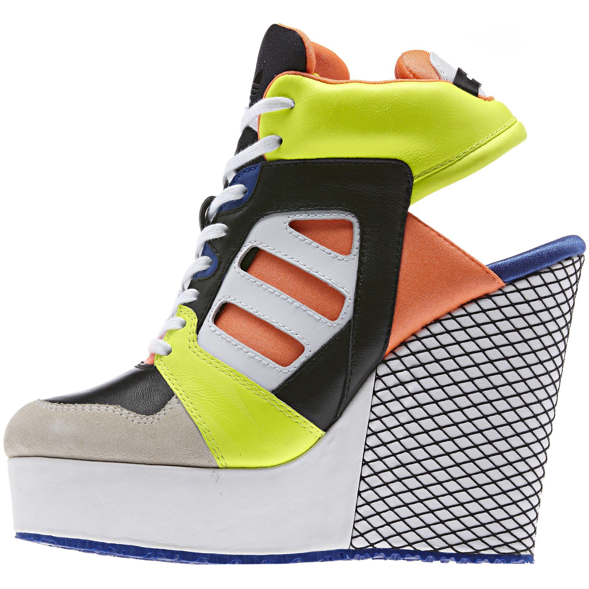 adidas chaussure femme compensée