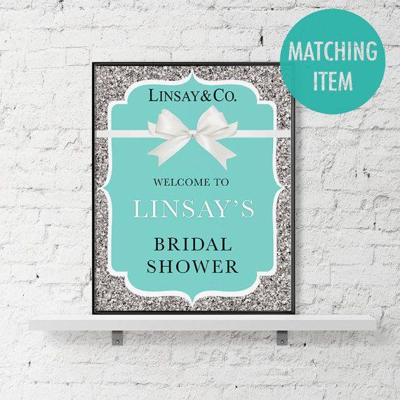 Tiffany and Co Invitation Template Breakfast at Tiffanys | Bridal ...