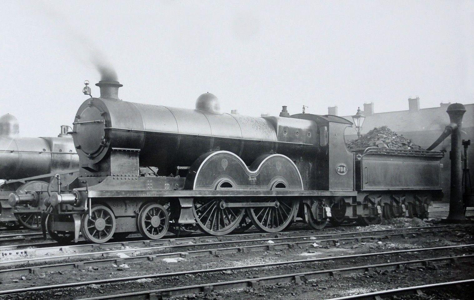 Mr 4 4 2 No 706 Locomotora Tren