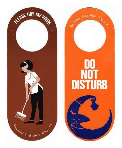 Michael Lebowitz Hotel Door Hangers Collected By My Grandfather