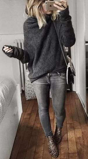 Trendy fall outfits with leggings, fall fashion, fashion trends