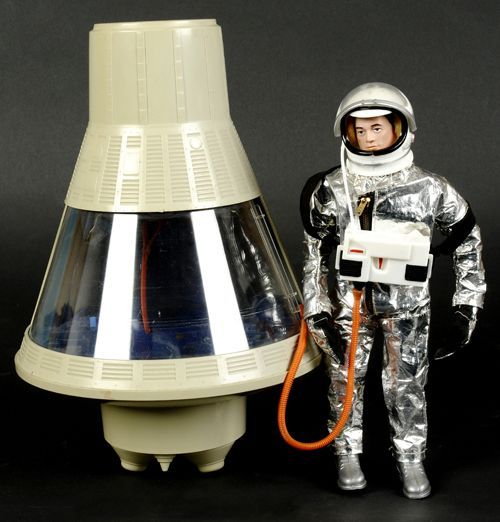 With you apollo 12 vintage space capsule toy 5115 can not