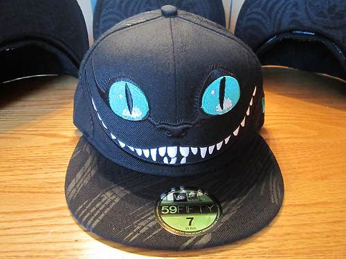 4a568d96cb2  89.99 Disney Alice in Wonderland Cheshire Cat Hat New Era 59Fifty Pick  Your Size!