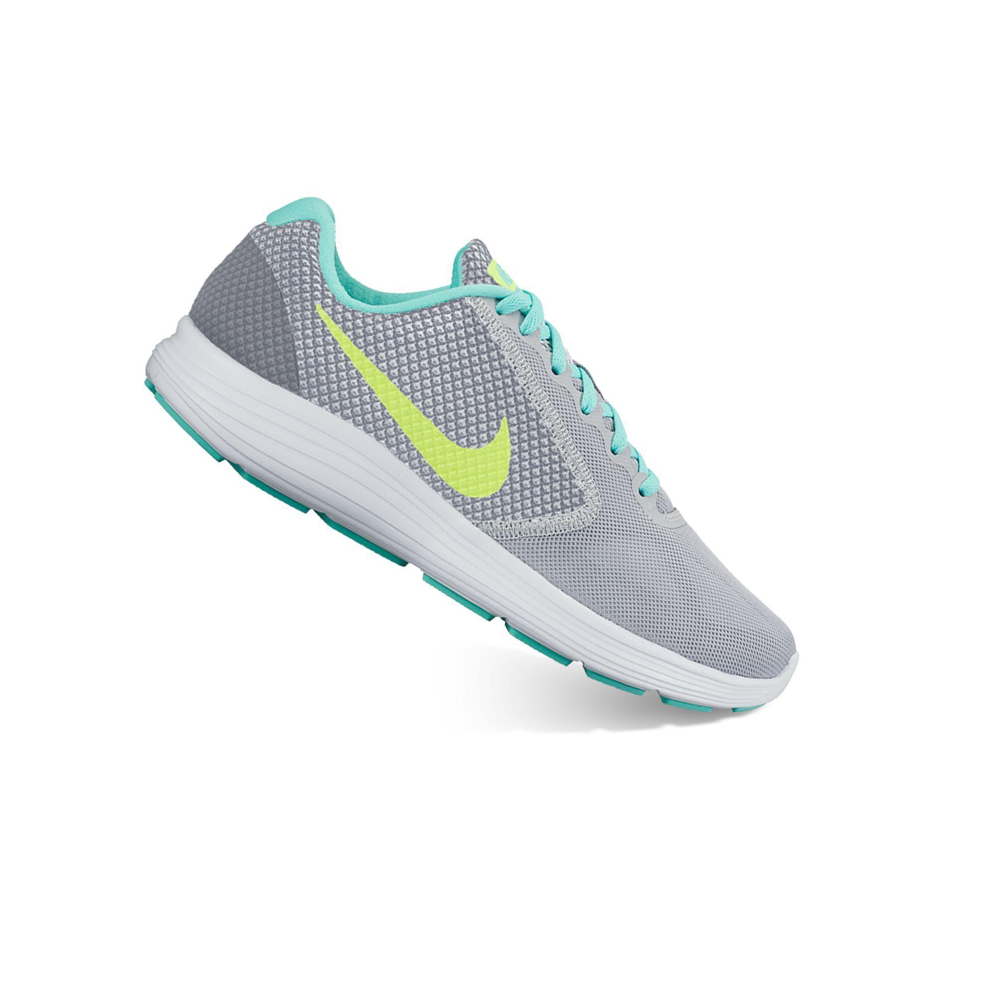 Nike Revolution 3 Women's Running Shoes-Women's size 6.5 White