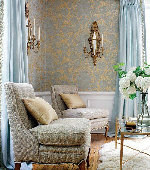 Серый & Золотой | PROdesign / Interiors | Декор ...
