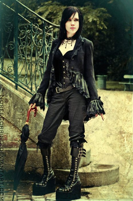 Victorian Goth, Neo-Victorian dress. | Goth Girl Photography ...