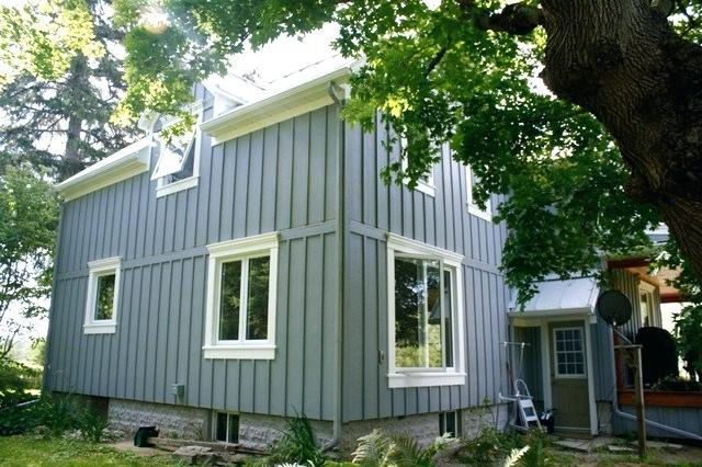 Fiber Cement Board Batten Country Exterior Toronto By The Cement