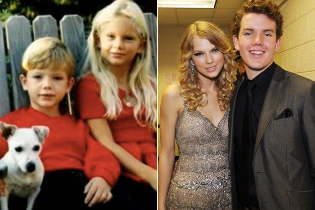 Taylor Swift and her brother Austin | taylor Swift! in 2019