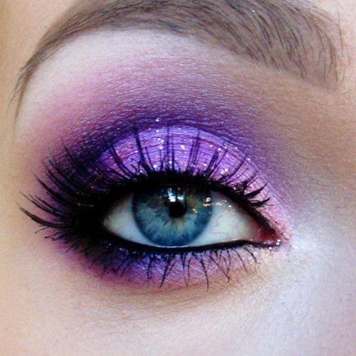 Purple #eyemakeup ~blueprintforbeauties~