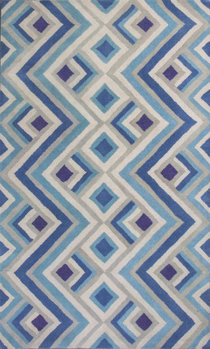 Kas Oriental Rugs Donny Osmond Home Harmony 8106 Ivory/Blue