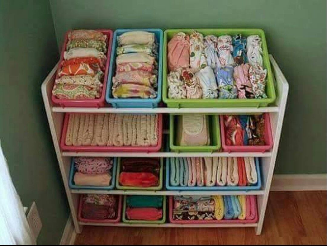 Good Way To Organize The Kid Clothes Kid Stuff Cloth Diaper
