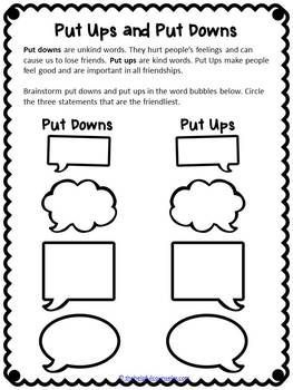 Rude / Mean / Bullying: from Trudy Ludwig's website | Teaching ...