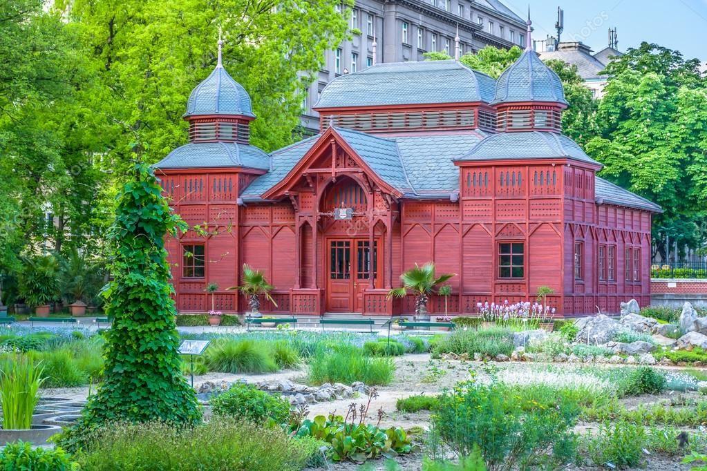 Pavellon Del Jardin Botanico Zagreb Croacia Zagreb Croacia Jardin Botanico