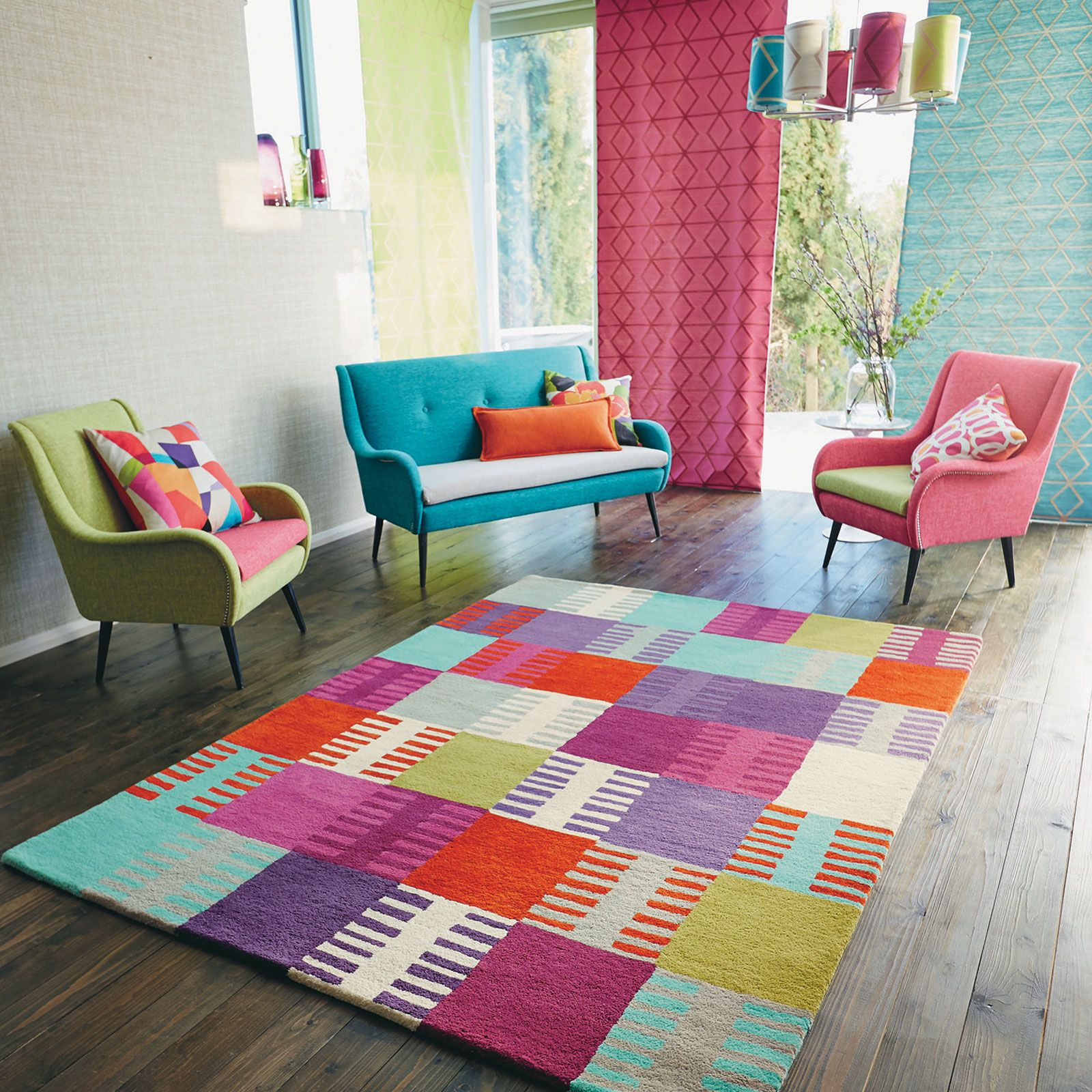 Navajo Rugs Are Handmade In India By