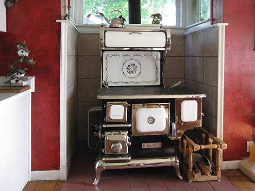 wood kitchen stove with water heater - google search