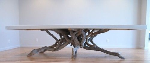 Float Dining Table By Benforgeydotcom Eclectic Dining Tables Etsy With Images Dining Table