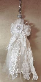 annes papercreations: Shabby Chic Lace Tassel Tutorial