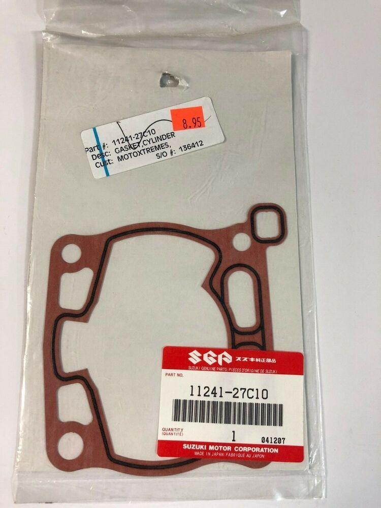 Advertisement eBay) Suzuki RM125 Base Gasket 1989-2006 11241