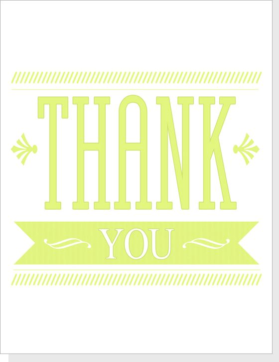 thank you cards free