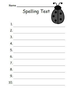My Newest FREEBIE ~ The -ug Family Spelling {Word Work} Lists