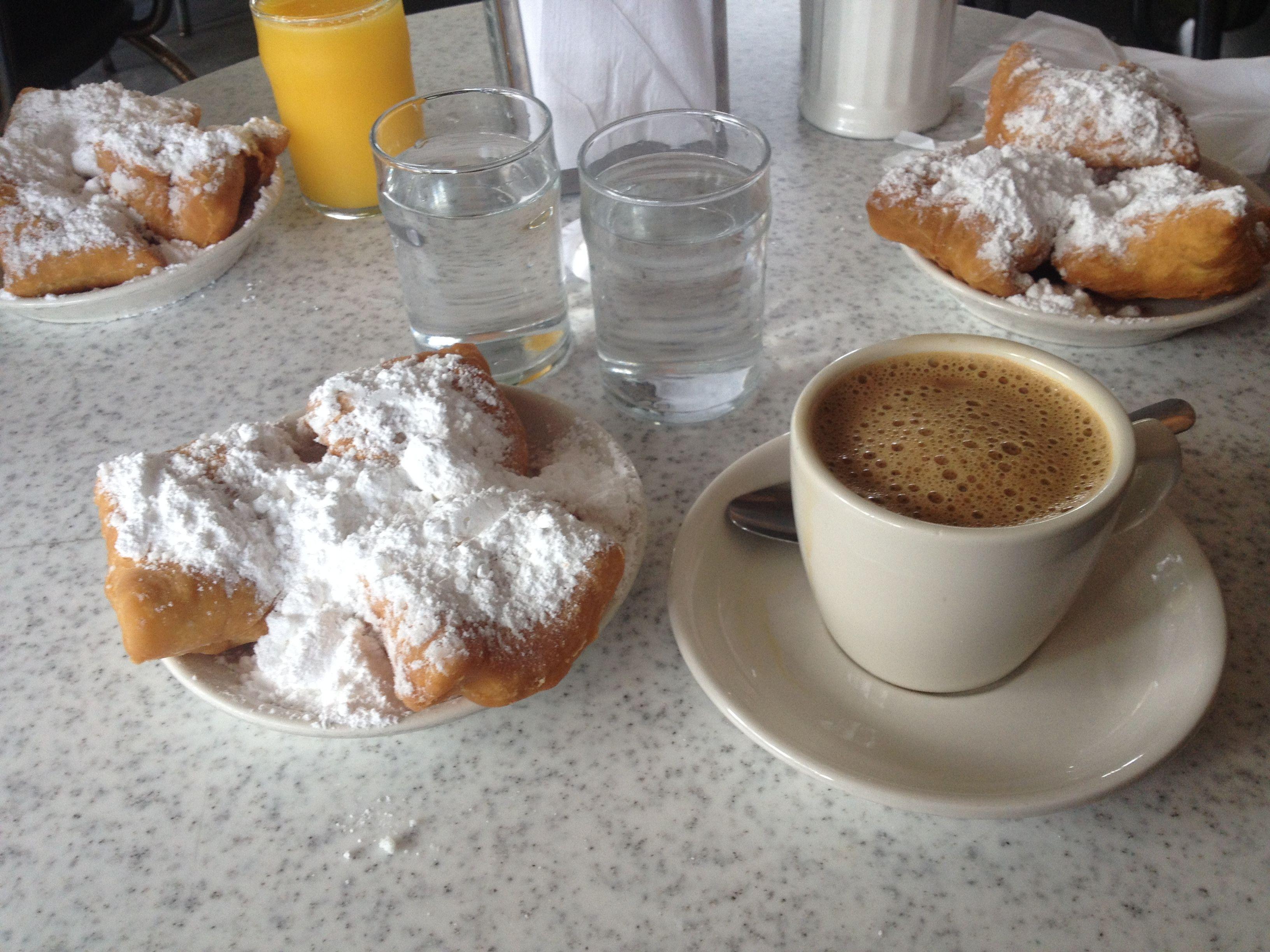 Cafe du monde does breakfastyum breakfast food new