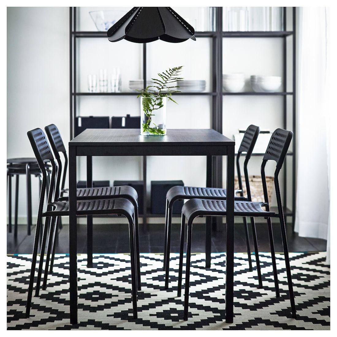Tarendo Table Black Ikea Dining Table Black Modern Dining