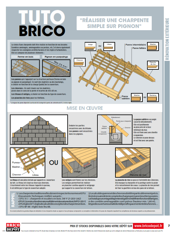 Brico Depot Renovation Amenagement Cataloguespromo Com Depot Catalogue En Ligne Reno