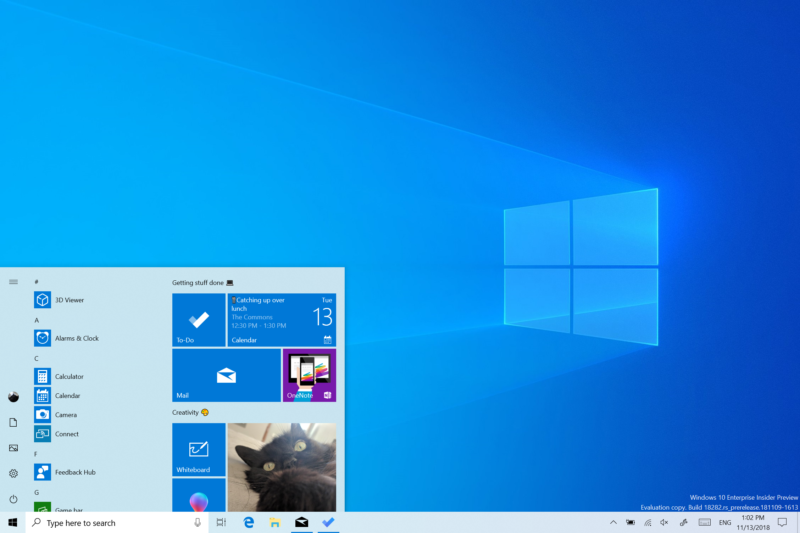 To complement the new Windows 10 dark theme, Microsoft is