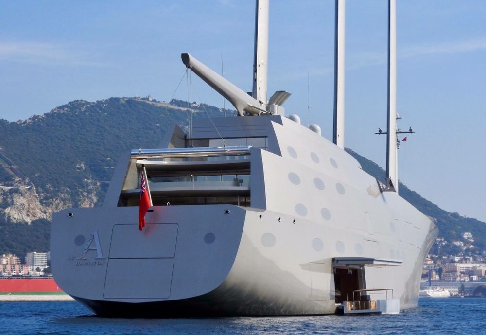 Sailing Yacht A Andrey Melnichenko Superyachts Yacht Vacations