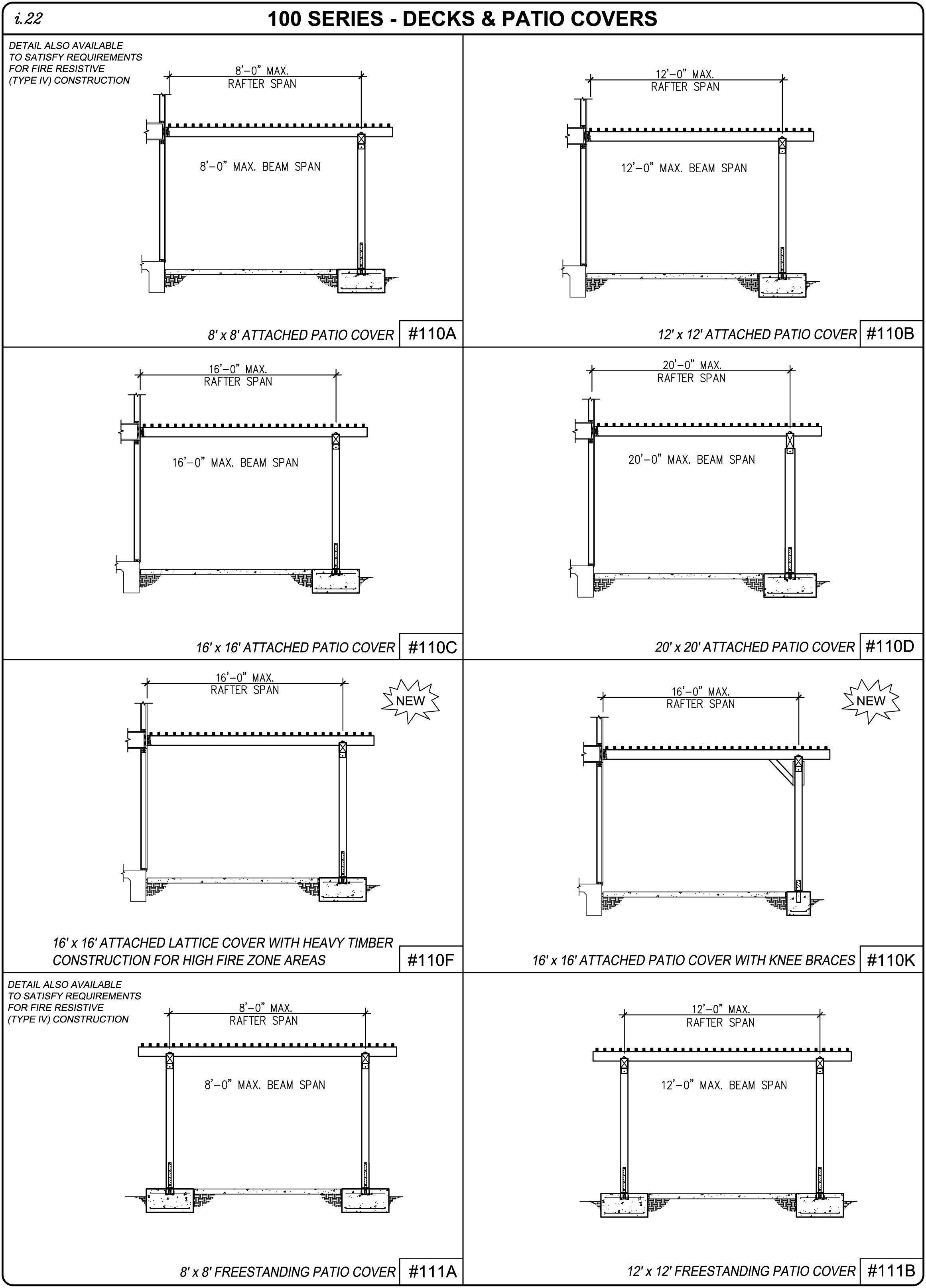 Everything You Need To Know About Patio Cover Plans Pdf Bw07o1