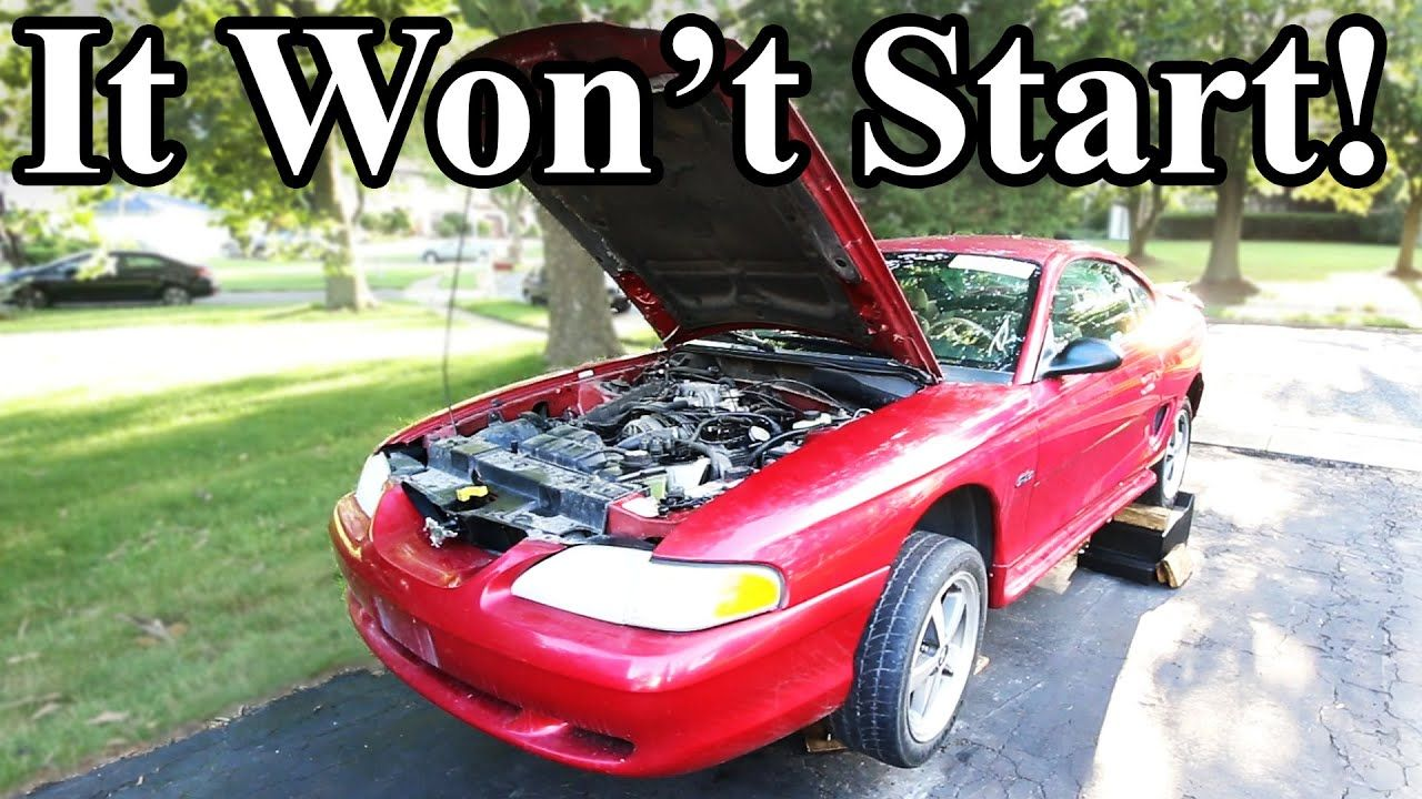 How to Start a Car That's Been Sitting for Years YouTube
