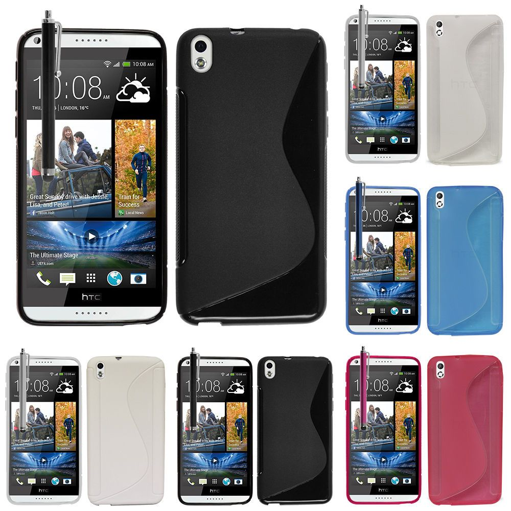 outlet store be5fd dd356 $2.29 AUD - Accessory Case Cover Tpu Silicone S-Line Htc Desire 816 ...