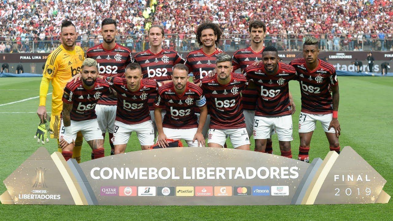 Ao vivo Flamengo campeão da Libertadores comemora título