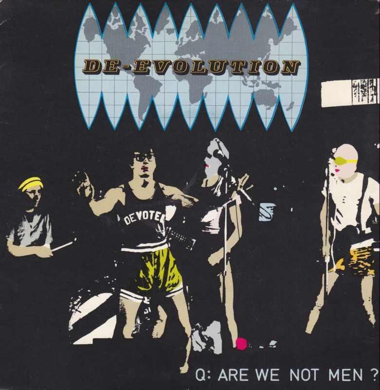 O Hi O Are We Not Men Album Covers Record Sleeves