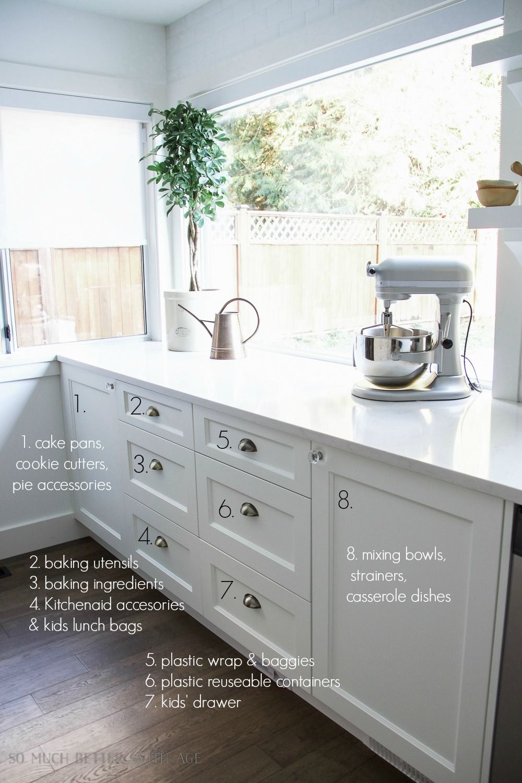 Kitchen Cupboard and Drawer Organization   Kitchen cupboards ...