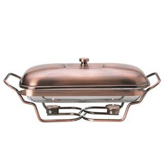Towle Living Contempo Copper Oblong Warmer