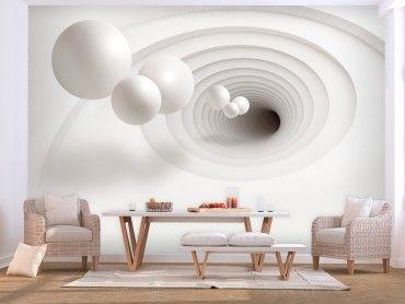 Papier peint 3D – une décoration murale pour créer leffet de lillusion
