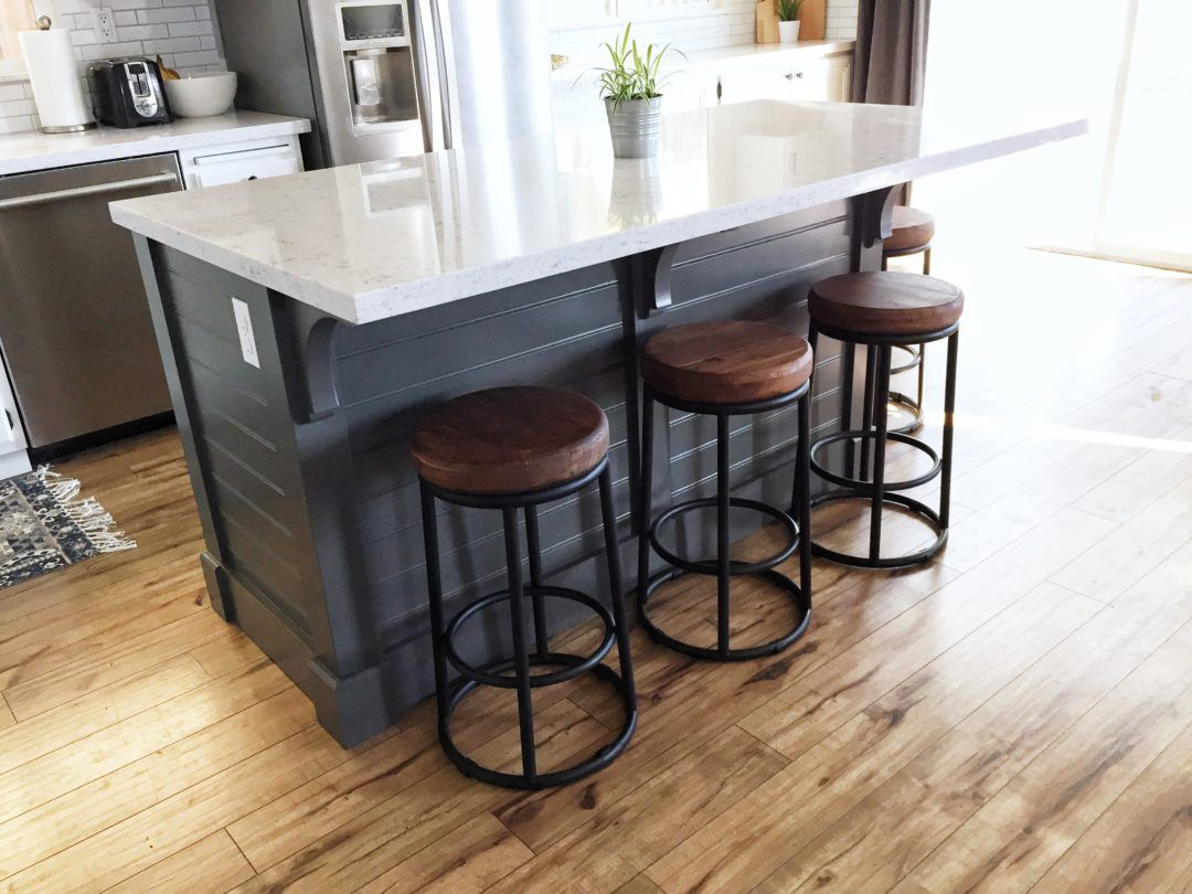 A DIY Kitchen Island: Make it yourself and Save Big! | Domestic Blonde
