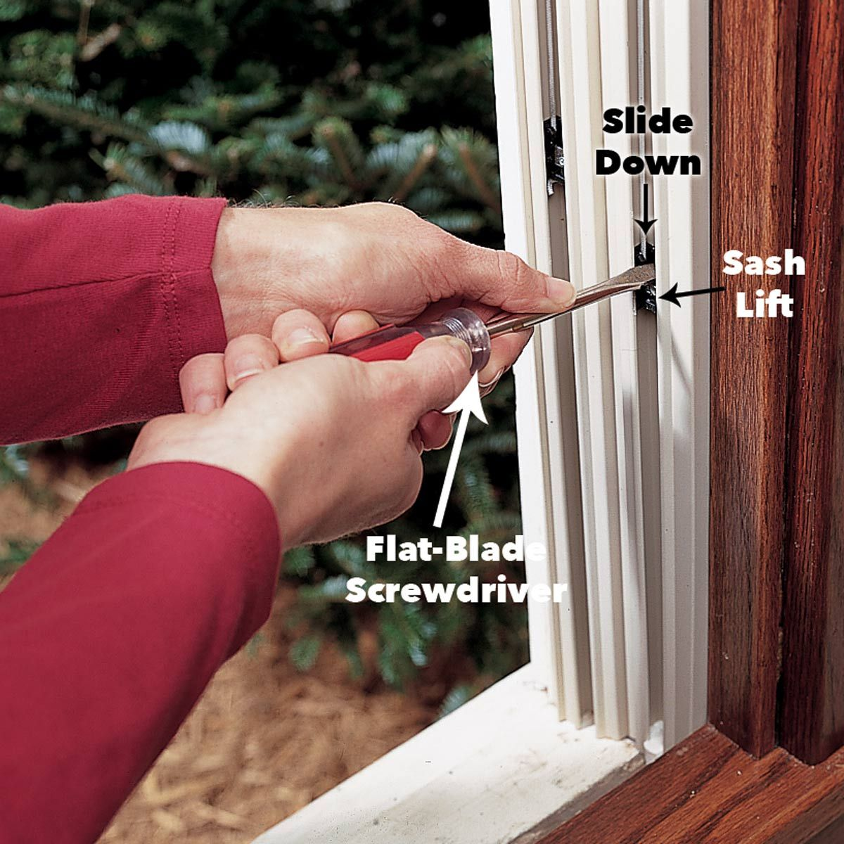 How to Install a Window Installation, Vinyl replacement