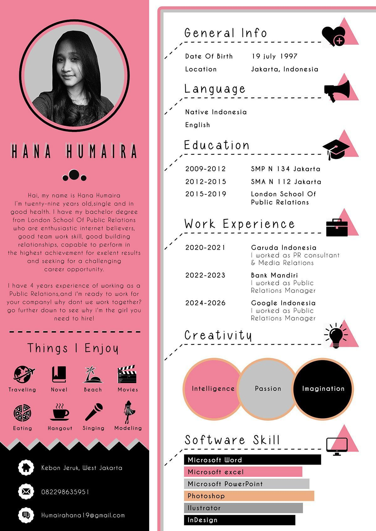 Portfolio Layout Social Icons Design Portfolio Web Design Cv Template Resume Design Portfolio In 2020 Resume Design Creative Graphic Design Resume Creative Cv Template