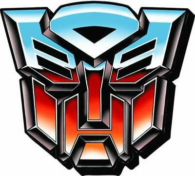 TR-01 Autobot Transformers Mask Vinyl Decal Sticker