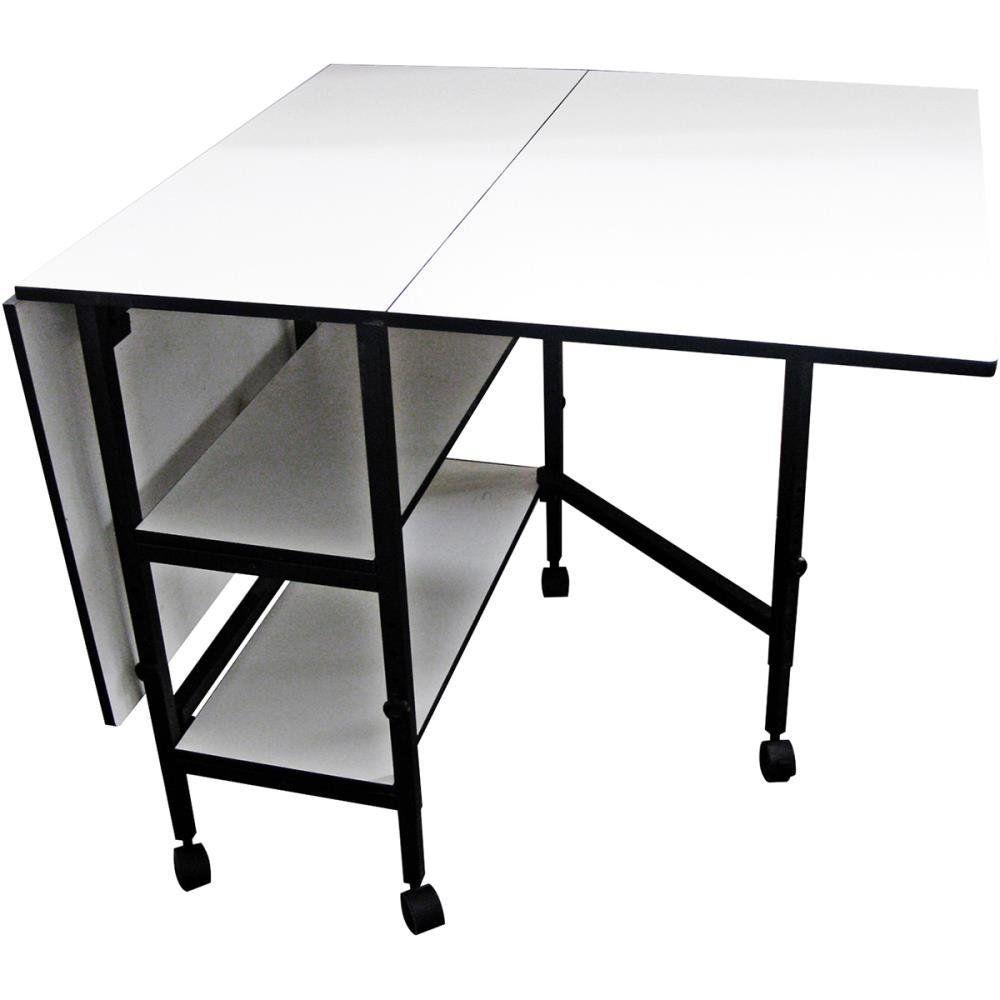 Adjustable Height Craft Table.Amazon Com Sullivans Home Hobby Adjustable Height Foldable