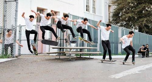 Trucos de Skate - treflip