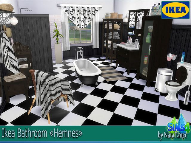 Sims 4 cc 39 s the best ikea bathroom set and clutter by for Mobili ikea modificati